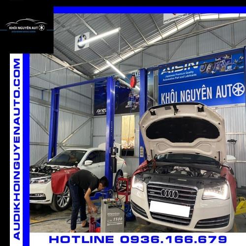 bảo dưỡng xe Audi tphcm